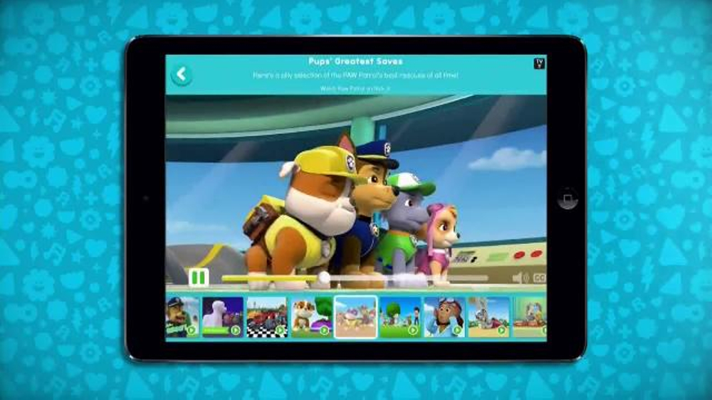 Nick Jr  App TV Commercial, 'Paw Patrol and More' - Video