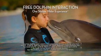 Atlantis TV Spot, '$250 Airfare Credit and Dolphin Interaction' - 1496 commercial airings