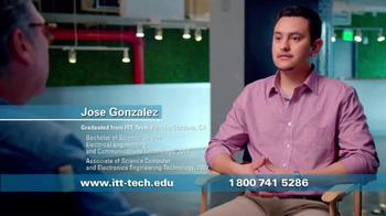 ITT Technical Institute TV Spot, 'Jose Gonzalez' - Thumbnail 3