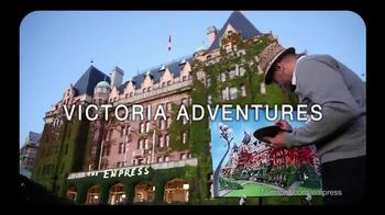Fairmont Empress TV Spot, 'Victoria Adventures'
