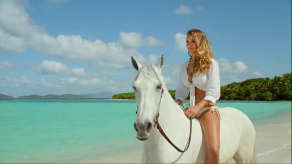DIRECTV TV Commercial, \'Hannah Davis Riding Her Horse\' - iSpot.tv
