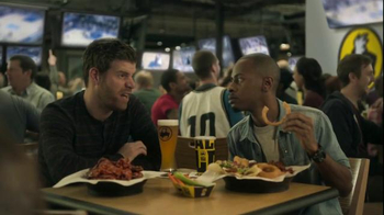 Buffalo Wild Wings TV Spot, 'Bandwagon' Featuring Stephen Rannazzisi - 28 commercial airings