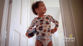 Pampers Easy Ups TV Spot, 'Train Museum'