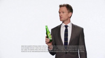 Heineken Light TV Spot, 'Money Back' Featuring Neil Patrick Harris - 8052 commercial airings