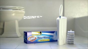 Clorox Toilet Wand TV Spot, 'A Family of Five' - Thumbnail 8