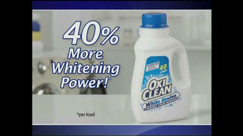 OxiClean White Revive TV Spot, 'Whiter and Brighter' - Thumbnail 3