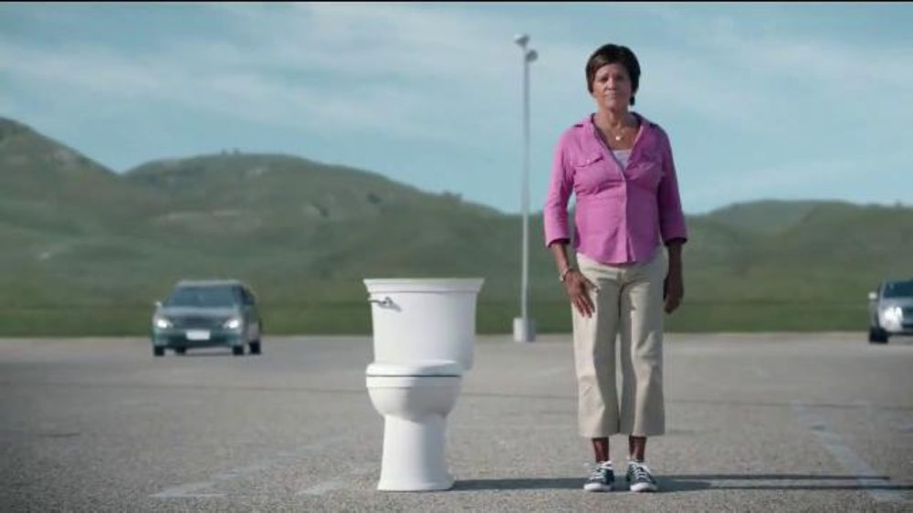 American Standard Vormax Toilet Tv Commercial Skid Marks