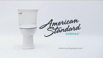 American Standard VorMax Toilet TV Spot, 'Skid Marks' - Thumbnail 8