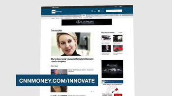 CNNMoney.com TV Spot, 'Innovate'
