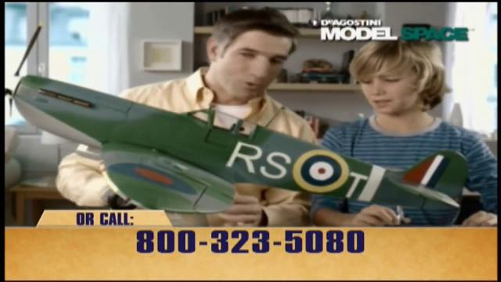 Model Space Spitfire TV Commercial, 'Build from the Scale Model Kit' - Video