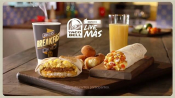 Taco Bell A.M. Crunchwrap TV Spot, 'Más y Más' [Spanish] - Thumbnail 9