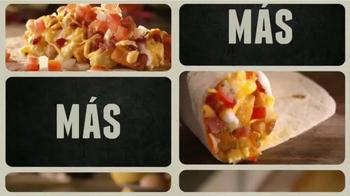Taco Bell A.M. Crunchwrap TV Spot, 'Más y Más' [Spanish]