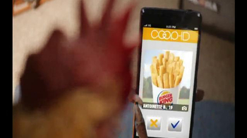 Burger King Chicken Fries TV Spot, 'Coopid' - Thumbnail 4