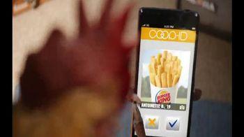 Burger King Chicken Fries TV Spot, 'Coopid'