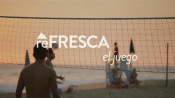 Coors Light TV Spot, 'reFRESCA el Juego' [Spanish]