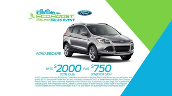 Ford Ecoboost Challenge Sales Event TV Spot, 'Real People' - Thumbnail 5