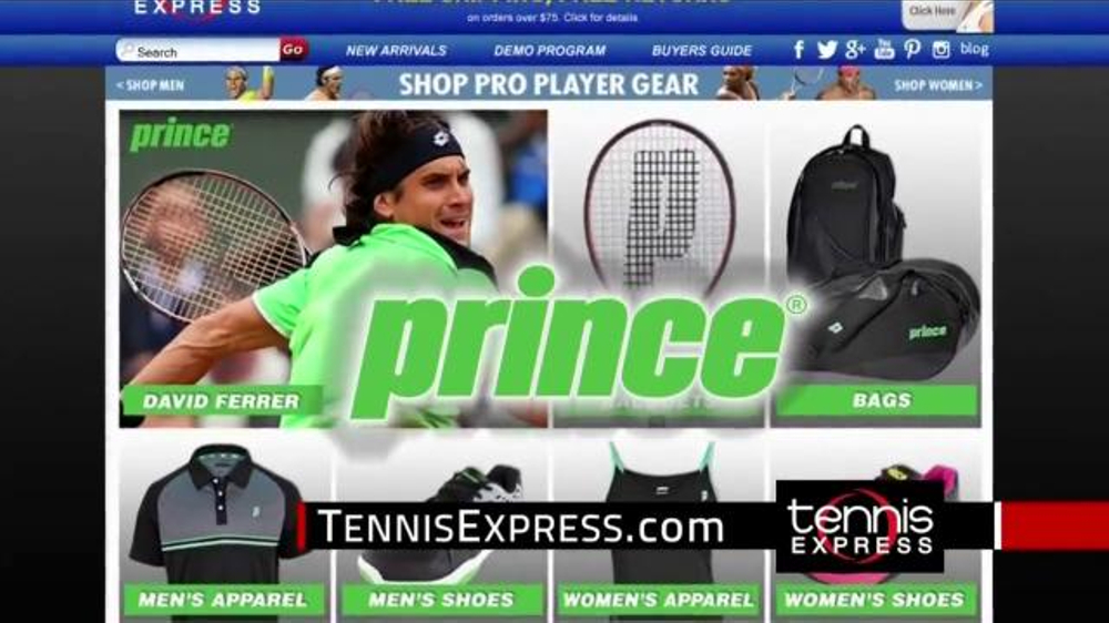 Tennis Express TV Commercial, 'Play Your Best'