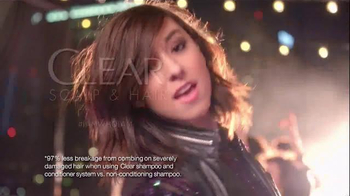 Clear Hair Care TV Spot, 'The Voice's Christina Grimmie's Hair Confession' - Thumbnail 6