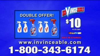InVinceable Spray TV Spot, 'Magic Spray' Featuring Vince Offer - 525 commercial airings