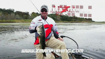 Z-Man Fishing Products TV Spot, 'Tough Bait' Featuring Luke Clausen