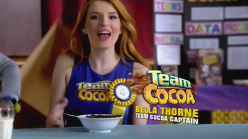 Cocoa Pebbles TV Spot, 'Team Cocoa: Inventions' Featuring Bella Thorne - Thumbnail 4