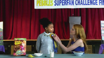 Cocoa Pebbles TV Spot, 'Team Cocoa: Inventions' Featuring Bella Thorne - Thumbnail 5