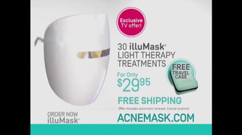 illuMask Acne Mask TV Spot, 'A Brand-New Way to Eliminate Acne' - Thumbnail 9