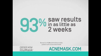 illuMask Acne Mask TV Spot, 'A Brand-New Way to Eliminate Acne' - Thumbnail 6
