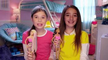Barbie Rainbow Hair Doll TV Spot, 'BFF Video Blog' - 25 commercial airings