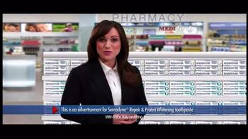 Sensodyne Repair & Protect Whitening TV Spot, 'MediFacts: Protection' - Thumbnail 3