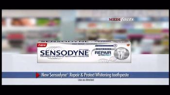 Sensodyne Repair & Protect Whitening TV Spot, 'MediFacts: Protection' - Thumbnail 4