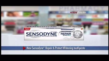 Sensodyne Repair & Protect Whitening TV Spot, 'MediFacts: Protection' - Thumbnail 9