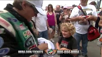 NHRA TV Spot, 'Racing Events Tickets'