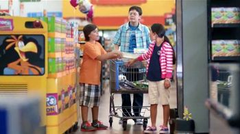 Walmart TV Spot, 'Shopping with Kids: Box Tops' [Spanish]