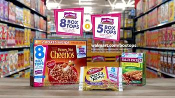 Walmart TV Spot, 'Shopping with Kids: Box Tops' [Spanish] - Thumbnail 9