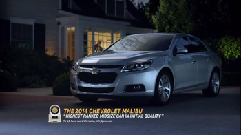 2014 Chevrolet Malibu TV Spot, 'The Car for the Richest Guys on Earth' - Thumbnail 9