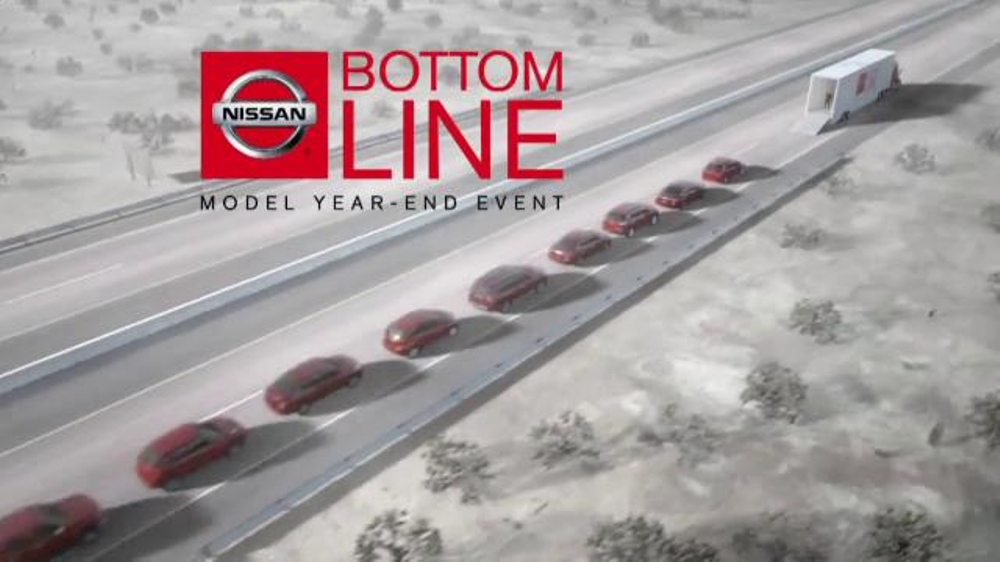 Nissan Bottom Line Event TV Commercial, 'Cargo' Song by ...