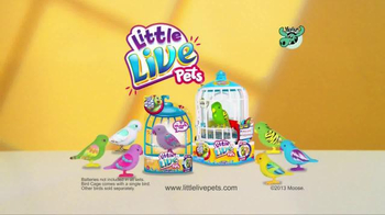 Little Live Pets Bird TV Spot, 'Feel Real' - Thumbnail 9