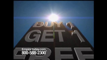Empire Today Buy 1 Get 1 Free Sale TV Spot, 'Some Things are HUGE' - Thumbnail 1