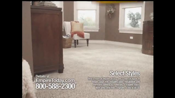 Empire Today Buy 1 Get 1 Free Sale TV Spot, 'Some Things are HUGE' - Thumbnail 2