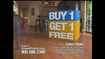 Empire Today Buy 1 Get 1 Free Sale TV Spot, 'Some Things are HUGE' - Thumbnail 5