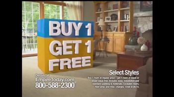 Empire Today Buy 1 Get 1 Free Sale TV Spot, 'Some Things are HUGE' - Thumbnail 6