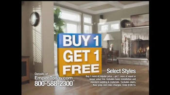 Empire Today Buy 1 Get 1 Free Sale TV Spot, 'Some Things are HUGE' - Thumbnail 7