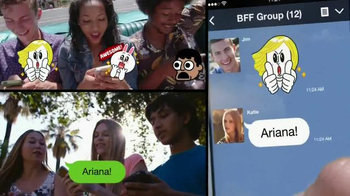 Line App TV Spot, 'Be the First' Featuring Ariana Grande - Thumbnail 5