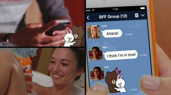 Line App TV Spot, 'Be the First' Featuring Ariana Grande - Thumbnail 6