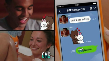 Line App TV Spot, 'Be the First' Featuring Ariana Grande - Thumbnail 7