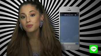 Line App TV Spot, 'Be the First' Featuring Ariana Grande - Thumbnail 9