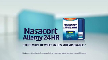 Nasacort Allergy 24HR TV Spot, 'Relief You Need' - Thumbnail 10