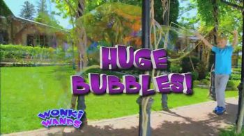 Wonki Wands TV Spot, 'Super Giant Bubbles'