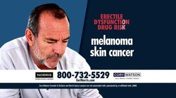 Norris Injury Lawyers TV Spot, 'Erectile Dysfunction Drug Risk'